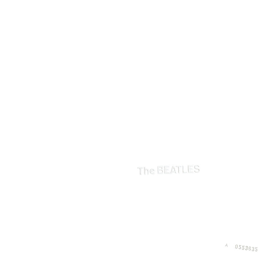 Can't be bothered to pay an artist cover: The Beatles (The White Album)