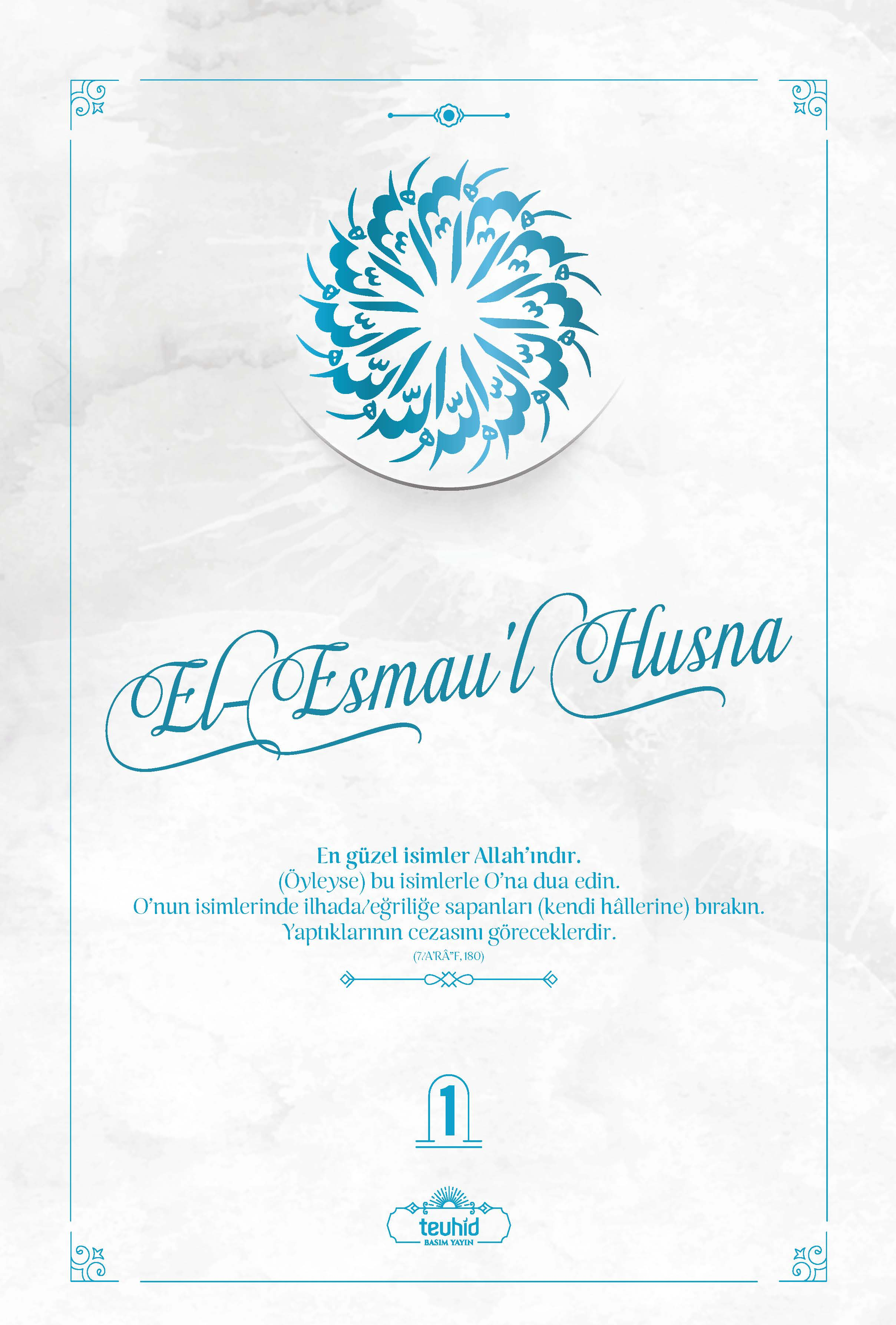 El-Esmau'l Husna 2 Cilt