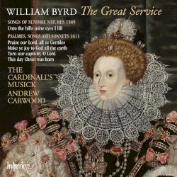 The Great Service by William Byrd ;   The Cardinall's Musick ,   Andrew Carwood