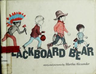 Cover of: Blackboard Bear | Martha Alexander