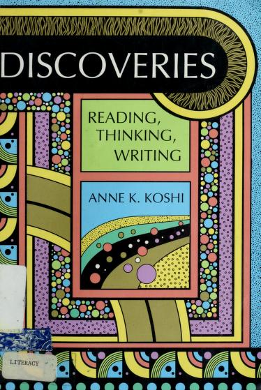 Discoveries by Annie K. Koshi
