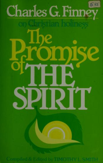 Cover of: The promise of the spirit | Charles Grandison Finney