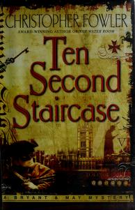 Cover of: Ten second staircase | Christopher Fowler